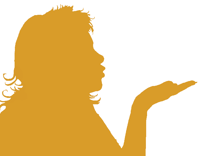 silhouette conteuse