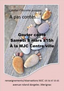 affiche gouter conté 8 mars